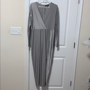 Long Sleeved Dress with slit
